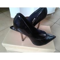 Sapato Salto Alto Scarpan Scarpin Vizzano N38