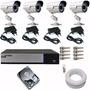Kit 4 Câmeras Cftv Dvr Luxvision Acesso Celular Simples
