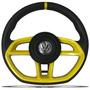 Volante Jetta Alemao Rallye Gol G3 G4 G5 Fox Par Sav Amarelo