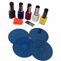 Carimbo De Unhas Kit Decoração Esmaltes Carimbo E Placas