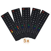 Controle Receptor Century Midiabox Shd7050 7100 5 Unidades