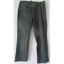 Brechó - Calça Jeans Preta Feminina Bobson Nº 42 Nova
