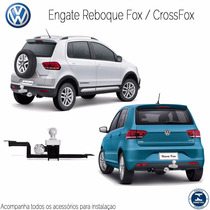 Engate Reboque Fox/crossfox/spacefox/fox 2010 ... Para 500kg