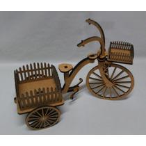Triciclo C/ Cachepos Cerquinha- Decoração Festas-bicicleta