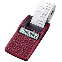 Calculadora Casio Hr-8tm Impressão - Vermelha
