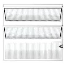 Vitro Basculante Aluminio Branco 60x60 Esax