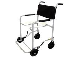 Cadeira De Rodas Para Banho Com Apoio - Pés Fixos - Cds