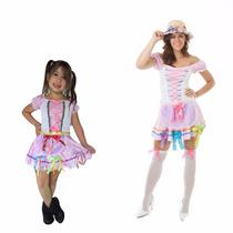 Vestido Festa Junina Tal Mãe Tal Filha Junino, 2 Vestidos