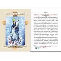 Santinho Nossa Senhora Da Cabeça (milheiro Pagar Promessa)