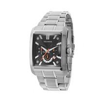 Relógio Masculino Technos Sports Os2aas/1p 40mm Prata