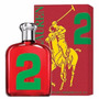 Perfume Ralph Lauren Polo Big Pony 2 Red Edt Masculino 125ml