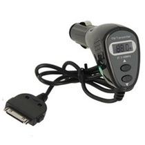 2em1 Transmissor Fm Com Carregador Veicular P/ Iphone/ipod
