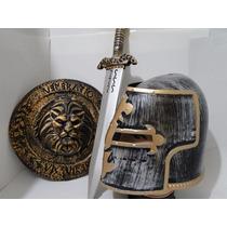 Fantasia Sword Armadura Medieval Gladiador Capacete Elmo