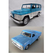 Kit Rural Willys E Pick-up Ford F-100 Lacradas