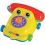 Telefone Didático Com Cofrinho Maxphone Mercado Toys 256