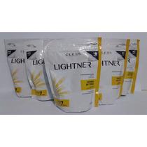 Kit 5 Refis Pó Descolorante Lightner Germen De Trigo 300g