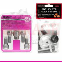Kit Anti-furto Mcgard P/ Rodas E Estepe - Palio Roda 13 E 14