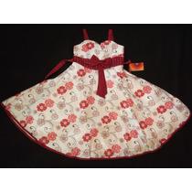 Vestido Infantil Festa/dama/florista Estampa Floral 10
