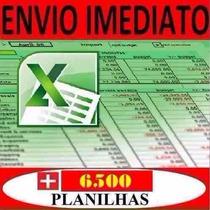 Tabelas Excel 6200 Planilhas Editáveis O Melhor Pacote Do Ml