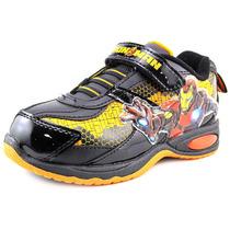 Marvel Heroes Homem De Ferro 3 Sneakers Sintéticos Iluminad