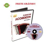 Curso Dvd Video Aula Acordeon Iniciante Maxwell Bueno Vol. 2