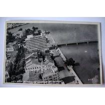 Vista Aérea Pça.república Recife-pe Cartão Postal Antigo