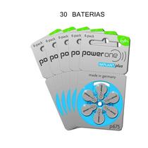 Baterias Aparelho Implante Coclear Powerone Implantplus