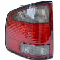 Lanterna Traseira Esquerda Chevrolet S10 1995 Até 2000 Fumê