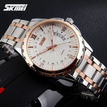 Relógio Skmei, Modelo 9069 - Gold