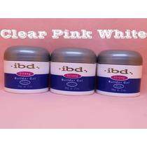 Kit Gel Qualidade Ibd - Clear/pink/branco - À Pronta Entrega
