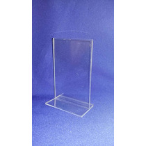 Display Ps Cristal (similar Acrilico) Mesa Tam. 10 X 15cm