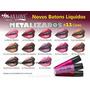 Batom Líquido Metalizado Kit 10 Cores Maxlove Lançamento!!!