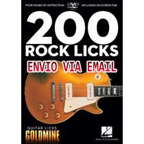 Video Aula 200 Guitar Licks De Guitarra Rock