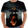 Camiseta Motoqueiro Fantasma - Ghost Rider - Movies - Hq