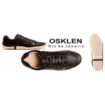 Sapatenis Tenis Masculino Osklen Couro 100% Original