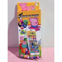 Brinquedo Iphone Educativo Peppa Pig Toque Crianças Música