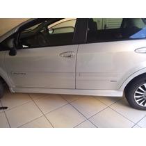 Spoiler Lateral Esportivo Fiat Palio Na Cor Prata Ou Preto