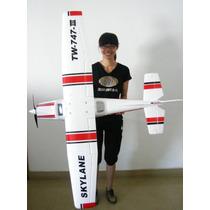 Aviao Aeromodelo Cessa747 Ill 6-ch 2,4ghz Bruslhfrete Gratis