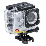 Câmera Filmadora Full Hd 1080p Sports Bike Moto Prova D'água