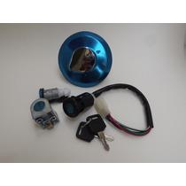 Kit Chave Igniçao Cg 125 Titan 2000/2001c/ 4 Pçs Sl21510