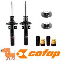 Kit 2 Amortecedor Dianteiros Polo Fox 2002 +kit+coxim