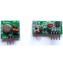 Módulo Rf Transmissor Receptor 315 Mhz Am Arduino Rx Tx