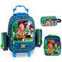 Kit Toy Story Mochila G + Lancheira + Estojo -dermiwil