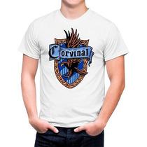 Camiseta Branca Harry Potter Corvinal Ravenclaw 560