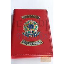 Porta Cheques Músico Profissional Omb Ordem Brasil República