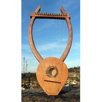 Lira De Apolo 15 Cordas Nylon - Harpa Antiga