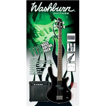 Kit Washburn Baixo T12b-completo
