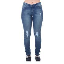Calça Jeans Feminina Hurley Azul
