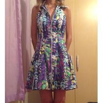 Vestido Original Planet Girls, Modelo Evasê, Tam M