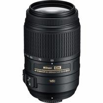 Lente Nikon Afs Dx 55-300mm F/4.5-5.6g Ed Vr +pronta Entrega